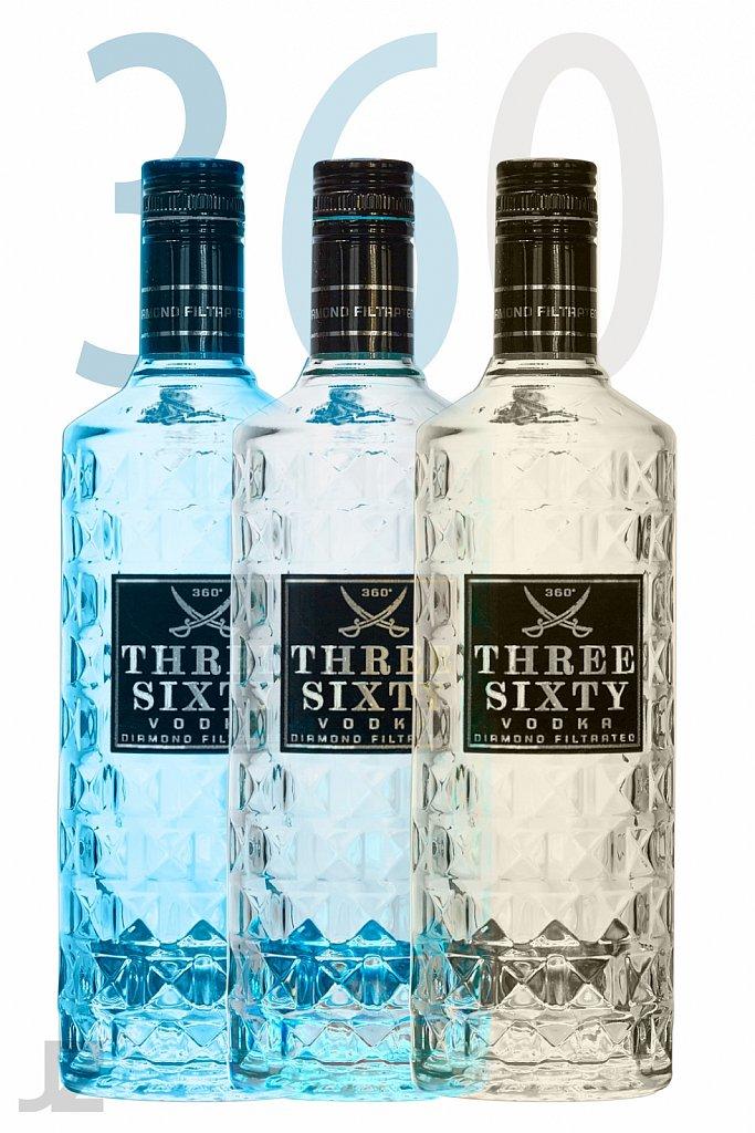 Vodkaflaschen